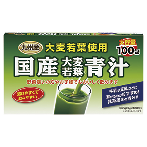 Domestic Barley Young Leaves AOJIRU 100 packs